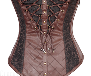 19th century, braids, and corset image