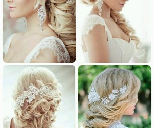 blonde, make up, and style image