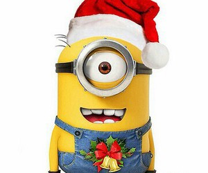 christmas, minion, and happy image