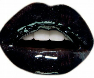lips, beauty, and black image