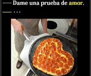 pizza, real, and love image