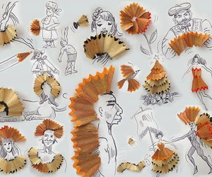 creative, art, and pencil image