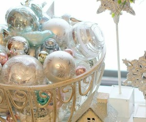 christmas, ornaments, and decor image
