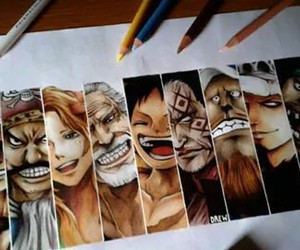 one piece, art, and anime image
