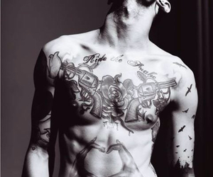 boy, Hot, and ink image