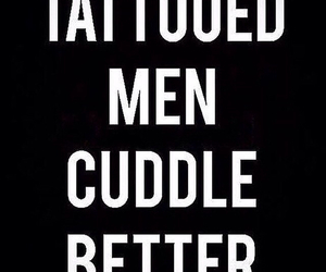 cuddle, ink, and men image