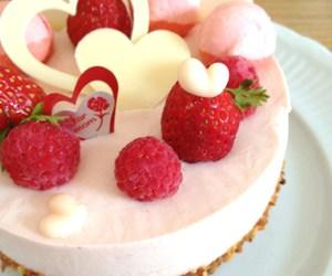 cake, strawberry cheesecake, and cheesecake image