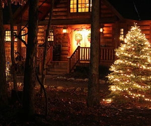 christmas, beautiful, and house image