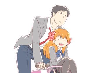 anime, sakura, and nozaki image