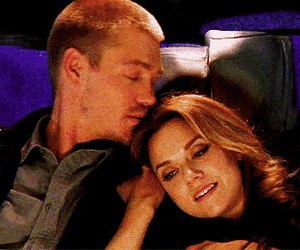 kiss, love, and one tree hill image
