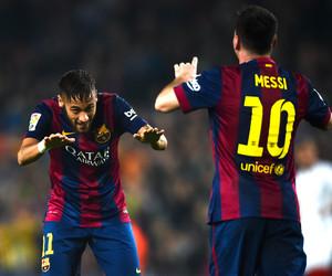 messi, neymar, and fc barcelona image