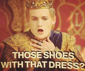 shoes, dress, and game of thrones image