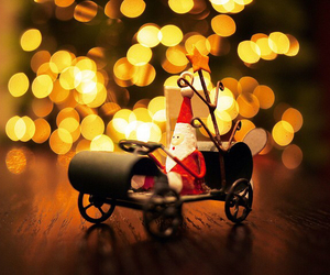 christmas, santa, and light image