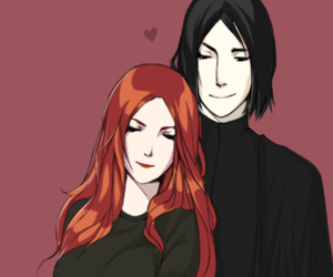 snape, lily, and always image