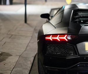 Lamborghini, love, and matte black image