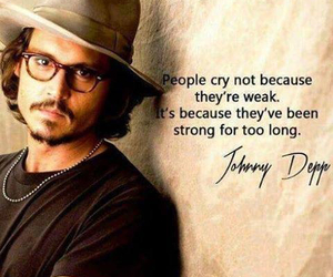 johnny depp, quotes, and strong image