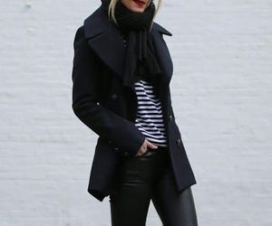 fashion, winter, and gray image