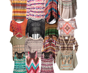 colorfull, fashion, and hippie image