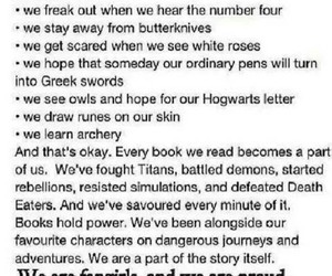proud, fangirl, and obsessed with books image