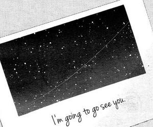 manga, stars, and monochrome image