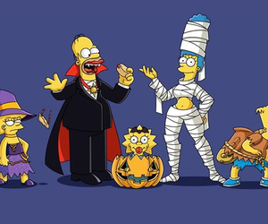 Halloween and simpson image