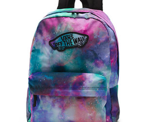 vans, galaxy, and bag image