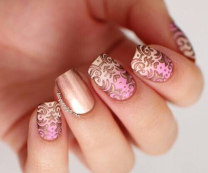 design, magnetic, and nail art image