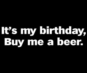 birthday and beer image