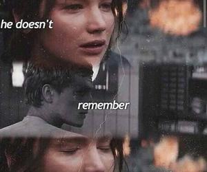 mockingjay, peeta, and katniss image