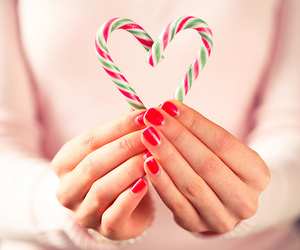 candy, christmas, and pink image