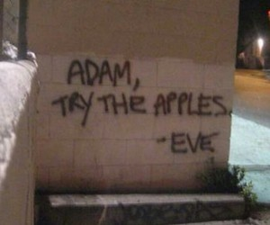 adam, apples, and eve image