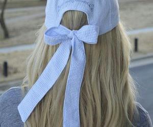 blonde, cap, and cute image