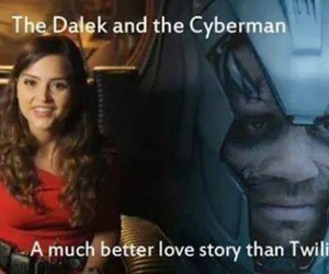 doctor who, love story, and daleks image