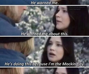 katniss, mockingjay, and haymitch image