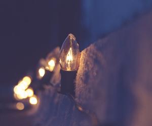 light and winter image