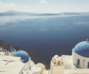 aegean sea, blue, and fun image