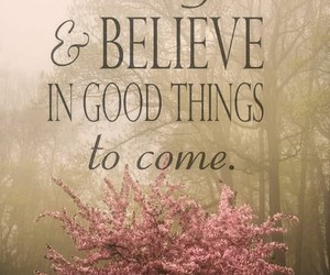 quote, believe, and god image