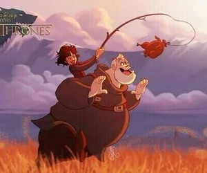 game of thrones, hodor, and disney image