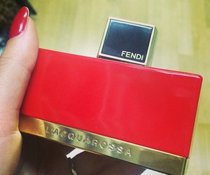 fendi, perfume, and red image