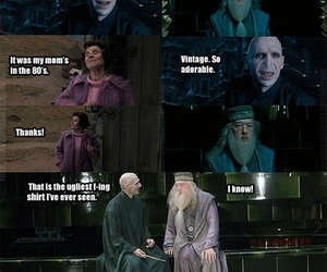 harry potter, funny, and dumbledore image