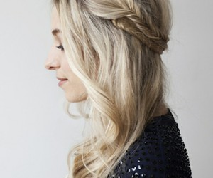 fishtail and hair image