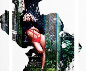 bikini, hair, and model image