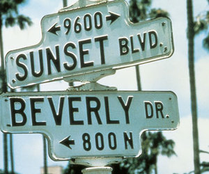 sunset, beverly, and Dream image