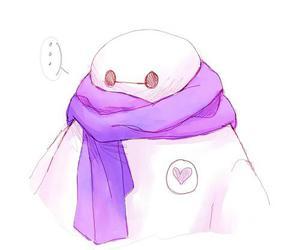scarf, walt disney, and big hero 6 image