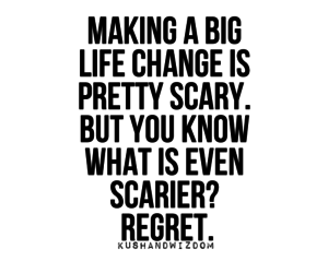 quotes and regret image