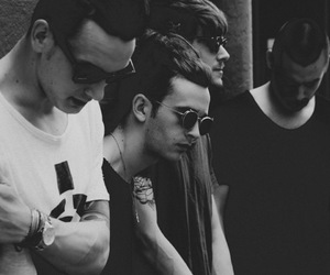 the 1975, band, and matty healy image
