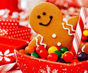 christmas, sweet, and food image