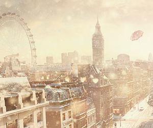 london and winter image