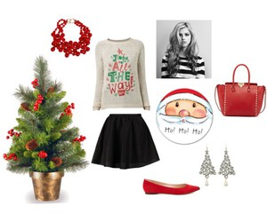 christmas, clothes, and fashion image