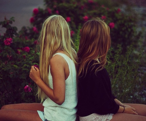 friends, forever, and love image